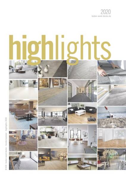 Cover bwd Sonderheft highlights 2020