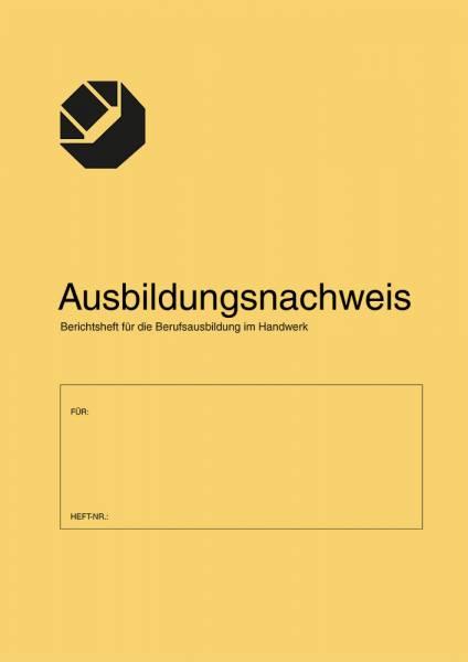Ausbildungsnachweis / Berichtsheft für die Berufsausbildung im Handwerk