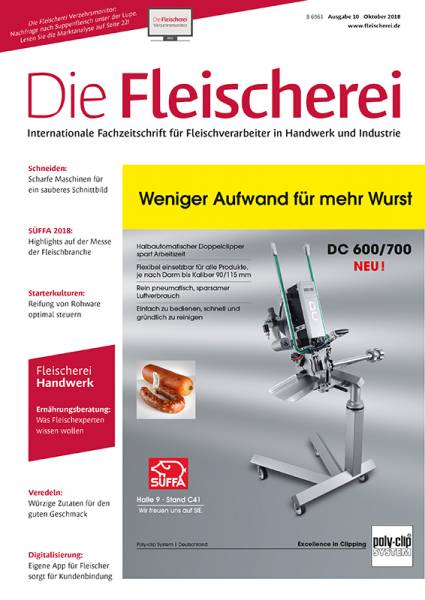 cover_die-fleischerei_10/2018