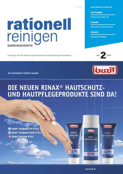 Cover rationell reinigen 2/2019