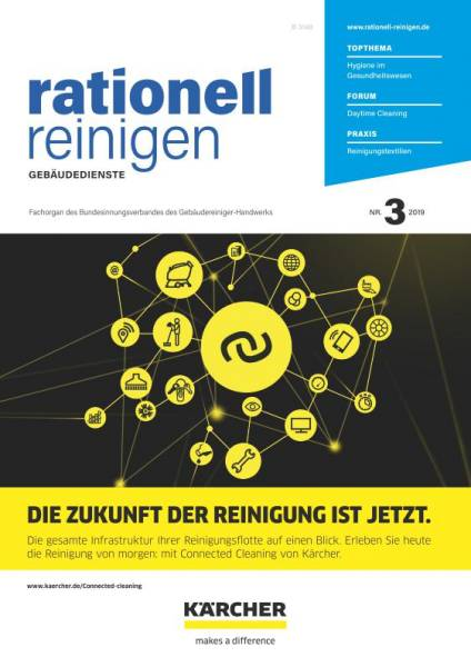 Cover rationell reinigen 3/2019