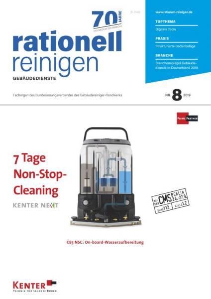 Cover rationell reinigen 8/2019