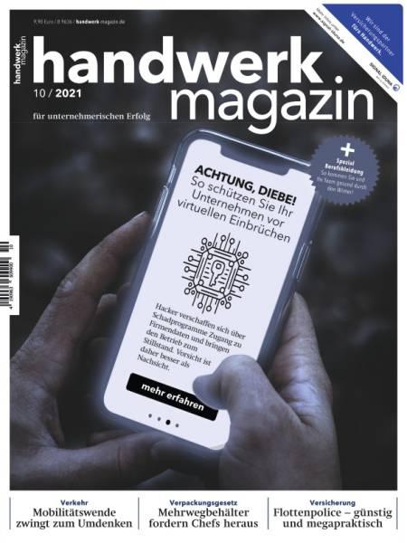handwerk magazin - Ausgabe 10/2021