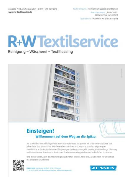 R+WTextilservice - Jahresabo mit Prämie
