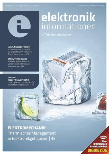 Cover elektronik informationen 4/2020