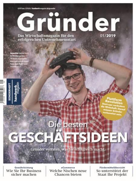 Cover Gründer 1/2019