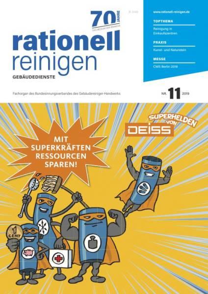 Cover rationell reinigen 11/2019