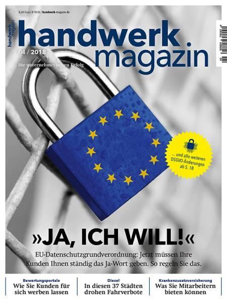 cover_handwerk-magazin_4/2018
