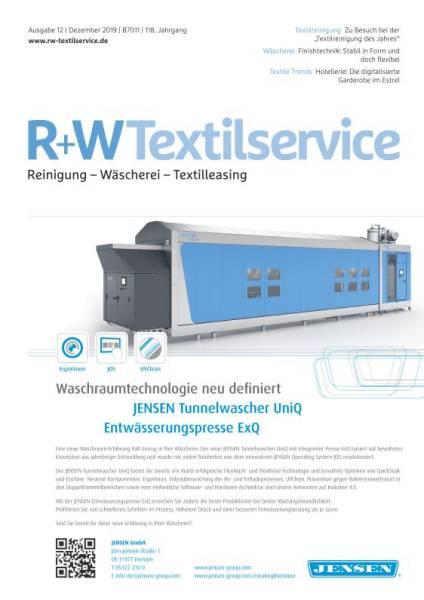 Cover R+WTextilservice 12/2019