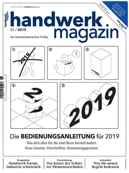 cover_handwerk-magazin_01/2019