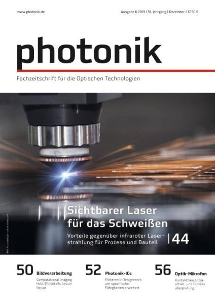 Cover photonik 6/2019