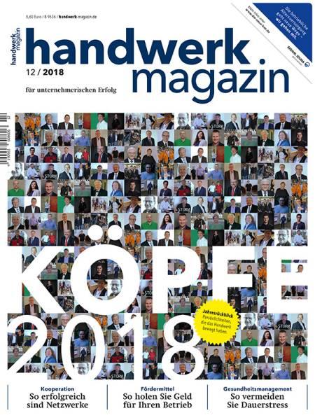 cover_handwerk-magazin_12/2018