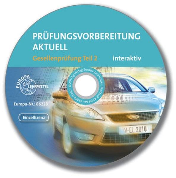 cover_Prüfungsvorbereitung_aktuell_Kfz_Gesellenprüfung_Teil_2_interaktiv