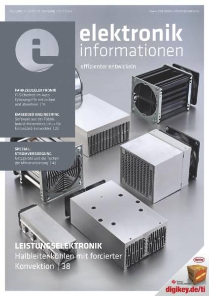 Cover elektronik informationen 5/2019