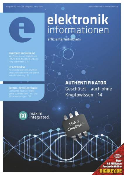 Cover elektronik informationen 2/2019