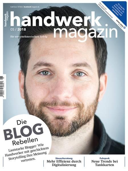 cover_handwerk-magazin_5/2018
